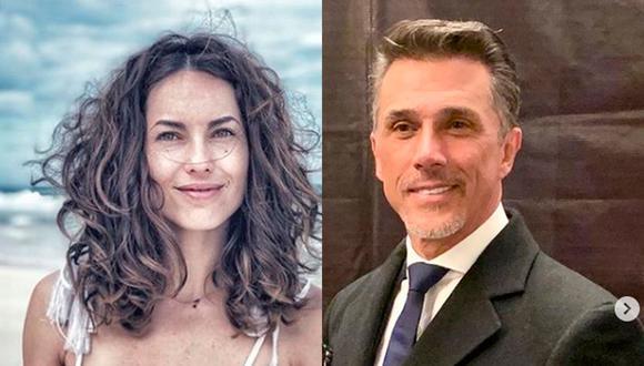 Bárbara Mori y Sergio Mayer estuvieron casados, pero a los pocos años se divorciaron (Foto: Instagram de Bárbara Mori y Sergio Mayer)