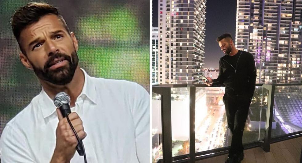 """Ricky Martin contó que al inicio de la cuarentena quiso dársela de """"superhéroe"""", pero luego se sintió desanimado por la enfermedad. (@ricky_martin)."""