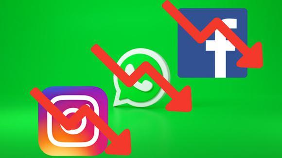 Acciones de Facebook bajan 5% tras caída global de redes sociales