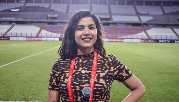 Rosa Muñoz le pondrá su voz al primer panel de mujeres a cargo de una transmisión en vivo en la Liga 1. (Foto: Facebook)