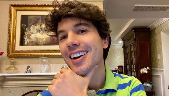 Bruno Pinasco emocionado por su próxima vacunación contra el COVID-19. (Fopto: @brunopinasco)