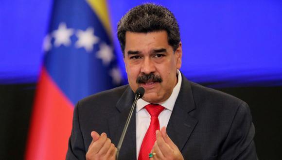 Nicolás Maduro durante una conferencia de prensa en Caracas, Venezuela. (Foto: REUTERS / Manaure Quintero / Foto de archivo).