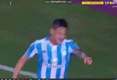 Racing vs. Flamengo: Hector Fertoli convirtió el 1-0 a favor de la 'Academia'   VIDEO