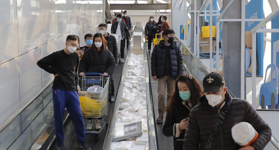 China ha disminuido los casos de contagiados por el nuevo coronavirus.(Foto: EFE)