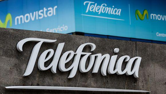 Telefónica fue sancionada con cuatro multas. (Foto: FEDERICO PARRA / AFP)