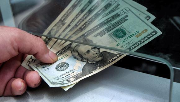 El dólar tiene un avance de 3,76% en lo que va del 2021, en comparación al resultado anotado al cierre del año pasado. (Foto: AFP)