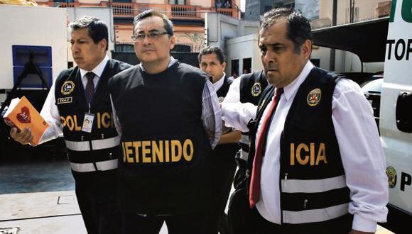 El ex viceministro del gobierno aprista Jorge Cuba cumple prisión preventiva desde enero del 2017. (Foto: Joseph Ángeles/El Comercio)