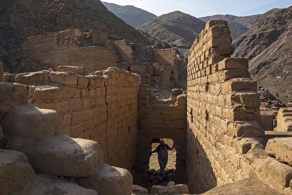 Complejo arqueológico de Uquira, levantado por mandato del inca Túpac Yupanqui en 1450. No hay guardianes ni letreros. A pesar del olvido de las autoridades, está bien conservado.  (Foto: Flor Ruiz)
