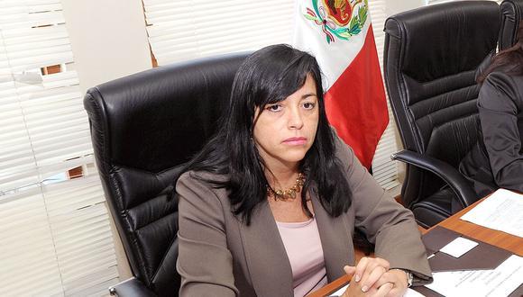 La ex funcionaria de la Defensoría del Pueblo, Patricia Garcés Peralta es la nueva viceministra de la Mujer. (Foto: Congreso)