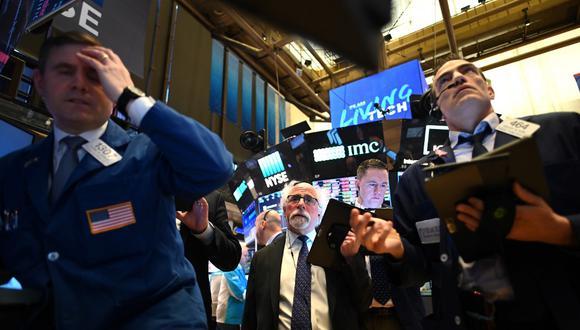 Los analistas del parqué señalaban este miércoles la drástica subida del rendimiento de los bonos del Tesoro a 10 años. (Foto: AFP)