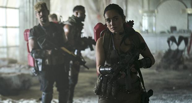 "The Mexican Ana de la Reguera in ""Army of the Dead"". (Foto: Netflix)"