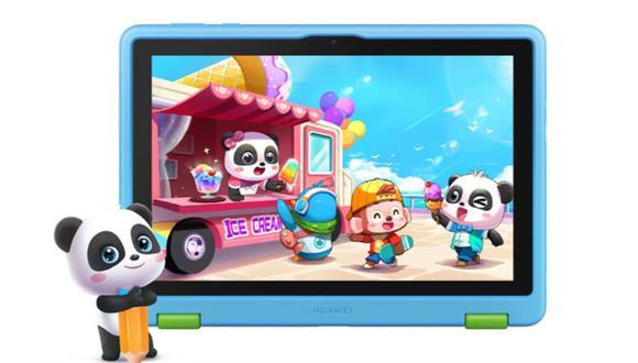 Huawei ha lanzado su nueva tablet para niños en Perú. Conoce todas las características de la MatePad T Kids. (Foto: Huawei)