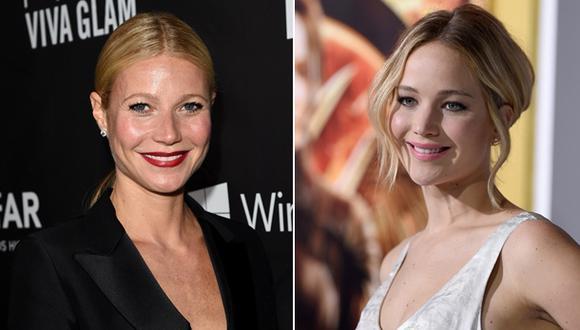 ¿Qué dijo Gwyneth Paltrow de Jennifer Lawrence y Chris Martin?