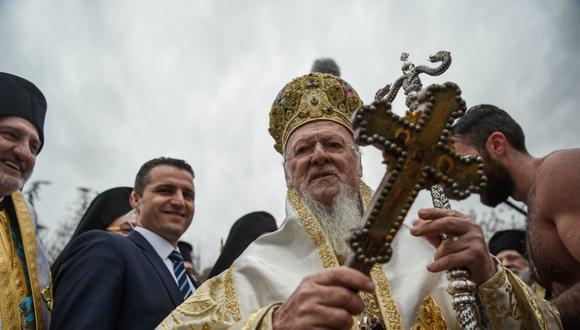 Miles de cristianos ortodoxos se juntan para celebrar la Navidad el 7 de enero. (Foto: Twitter)