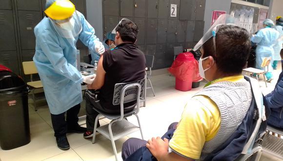 Tacna podría ser la primera región del Perú en alcanzar la inmunidad de rebaño. (Foto: GEC)