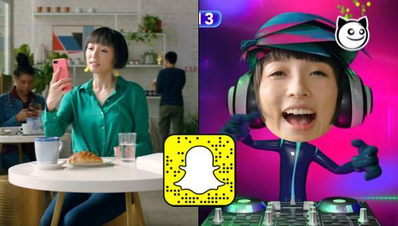 Snap, matriz de Snapchat, ha estado invirtiendo cada vez más en su software Lens Studio para que desarrolladores creen sus filtros de realidad aumentada especializados. (Foto: Snapchat)