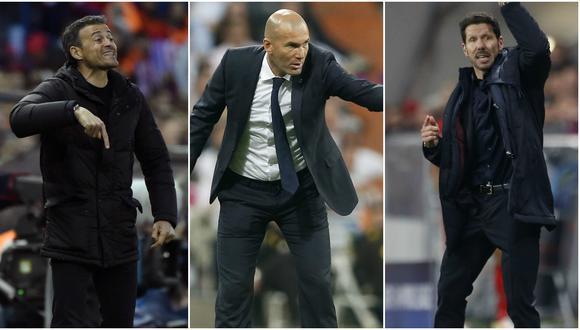 Luis Enrique, Zidane y Simeone: palabras de los tres técnicos