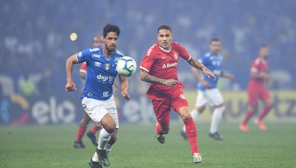Con Paolo Guerrero, Internacional vs. Cruzeiro EN VIVO: sigue minuto a minuto el duelo por la semifinal de la Copa de Brasil   Foto: Internacional