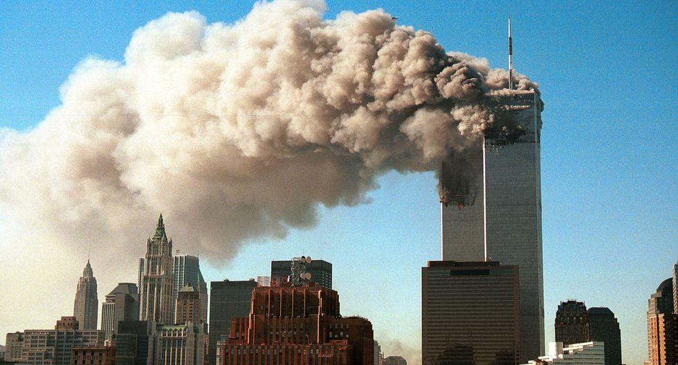 El 11 de setiembre del 2001, el grupo terrorista Estado Islámico estrelló dos aviones comerciales contra las Torres Gemelas de Nueva York dejando casi 3.000 muertos. (AFP).