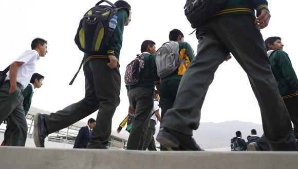 Gobierno exige a los colegios privados informar la relación de costos bajo nuevos escenarios de la educación. (Foto: GEC)