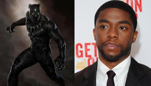 Marvel: Chadwick Boseman será Pantera Negra en el cine