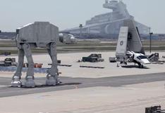Transforman aeropuerto de Alemania en base de Star Wars