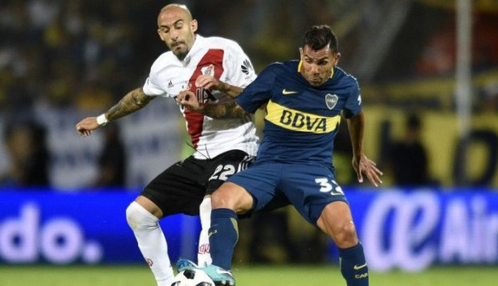 Boca y River jugarán tres clásicos. El primero será este domingo. (Foto: AP)