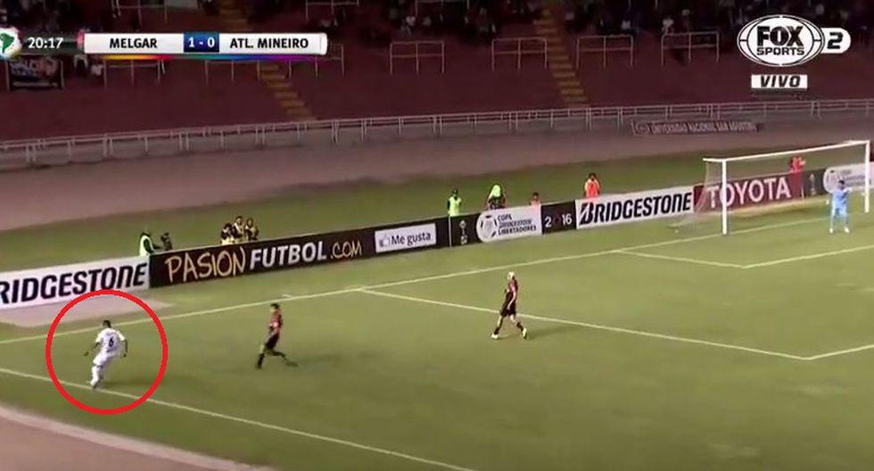 Los errores de Melgar en los goles de Atlético Mineiro - 1