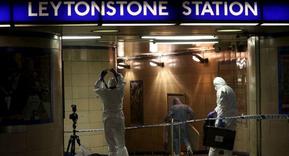 """Atacó con machete en el metro de Londres: """"Esto es por Siria"""""""
