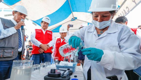 Arequipa: Detectarán COVID-19 en aguas residuales de alcantarillado con nueva herramienta (Foto: Ministerio de Vivienda)