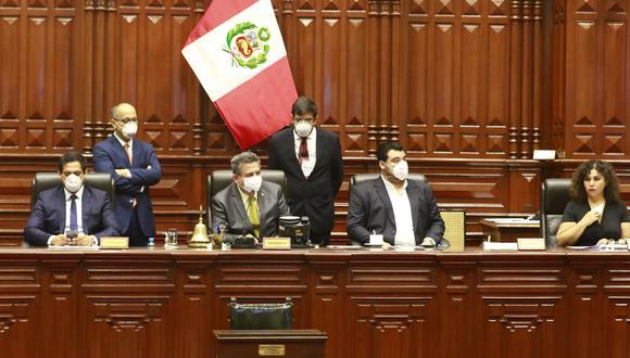 Los integrantes de la Mesa Directiva, entre ellos su presidente Manuel Merino, viajarán a Apurímac para la sesión descentralizada. (Foto: Congreso)