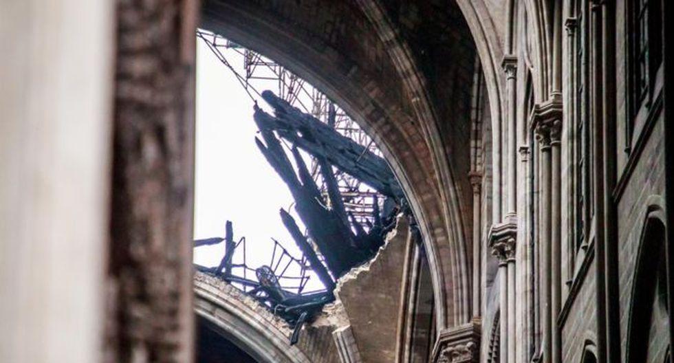 Se prometieron cientos de millones de euros para las obras de reconstrucción de Notre Dame. Foto: Reuters