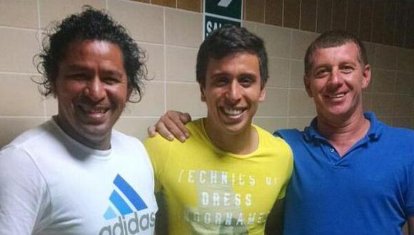 Juan Carlos Bazalar recibió visita de Acasiete y 'loco' Zapata