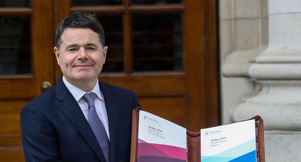 El ministro de Finanzas de Irlanda, Paschal Donohoe, presentó el proyecto de ley de presupuestos para el 2020 en el que se consigna el fondo de previsión para un Brexit sin acuerdo. (Foto: Reuters)