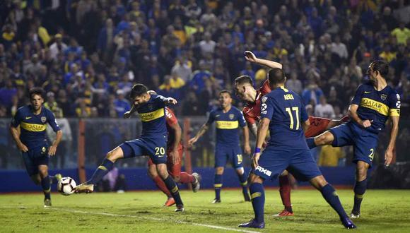 Boca Juniors vs. Atlético Paranaense se miden por la Copa Libertadores 2019. (Foto: AP)