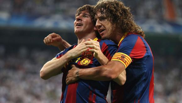 Lionel Messi habría decidido no continuar en el Barcelona. Carles Puyol, ex compañero del argentino, salió a respaldarlo. (Foto: EFE)