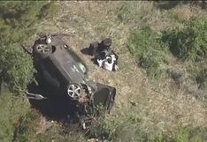 Accidente de Tiger Woods: así quedó el auto tras el choque automovilístico [VIDEO]