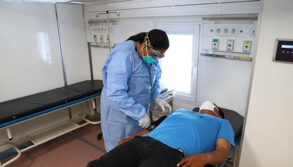El Minsa ha establecido una serie de módulos para atender a pacientes sospechosos con coronavirus para descartar o tratar a infectados. Estos se encuentran en ambientes especiale sde algunos hospitales. (Foto: Alessandro Currarino)