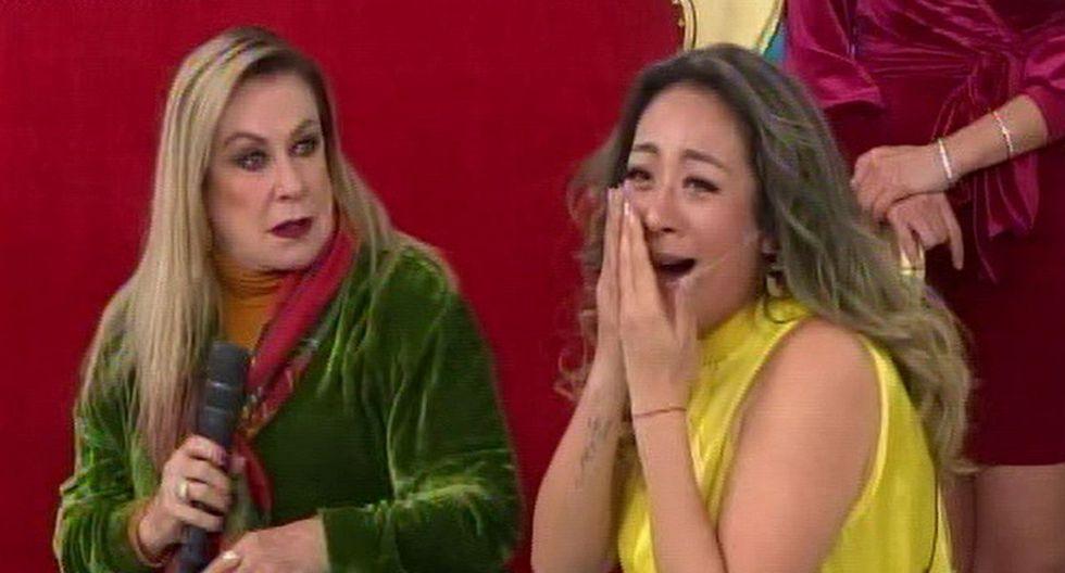 Laura Zapata sorprendió a Cathy Sáenz con una bofetada. (Captura: Latina)