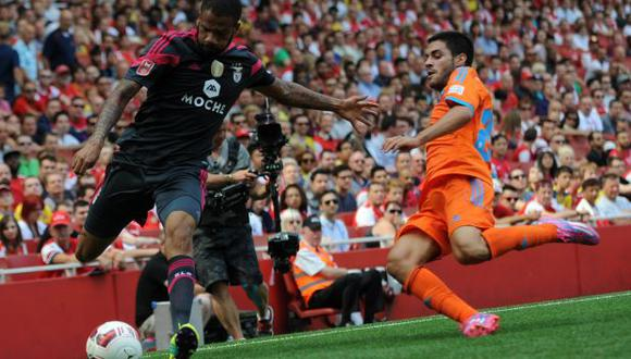 Valencia ganó la Emirates Cup luego de ganar 3-1 a Benfica