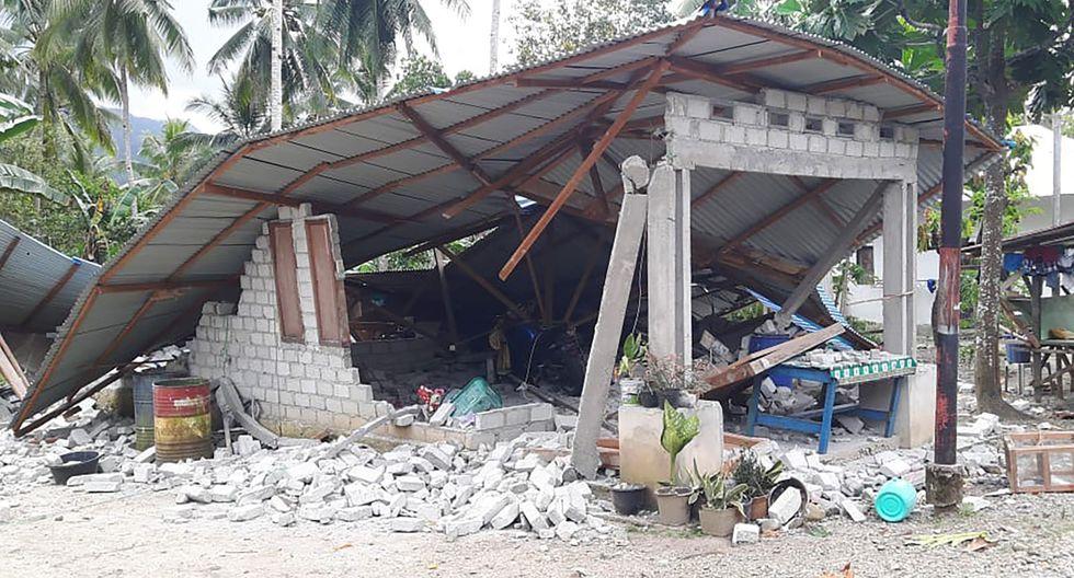 El terremoto del jueves en Indonesia dejó al menos 30 muertos. (EFE).