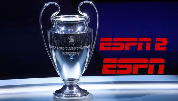 Mira la UEFA Champions League por ESPN y ESPN 2 en vivo | Foto: composición