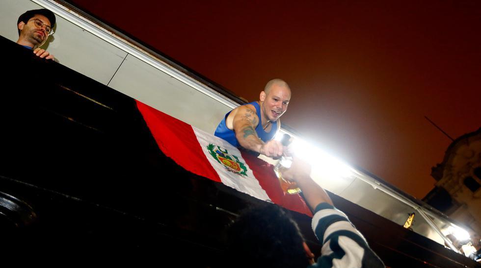 Calle 13: excesos y descontrol en la plaza San Martín [Fotos] - 1
