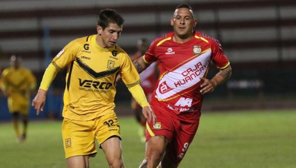 Sport Huancayo venció a Cantolao 2-0 en el partido de ida de la semifinal   Foto: Liga 1