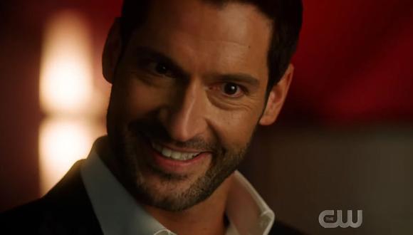 """""""Crisis on Infinite Earths"""": Lucifer, de Netflix, sorprende a todos con su aparición en el crossover. (Foto: Captura)"""