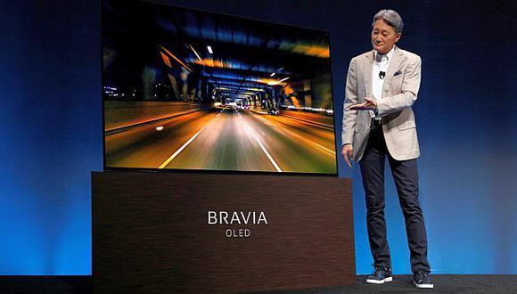 CES 2017: nuevo Tv de Sony emitirá el sonido desde la pantalla