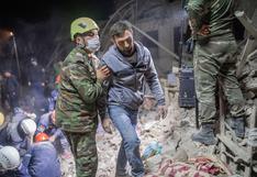 Azerbaiyán jura venganza por ataque con misiles que arrasó con varias casas mientras la gente dormía | FOTOS