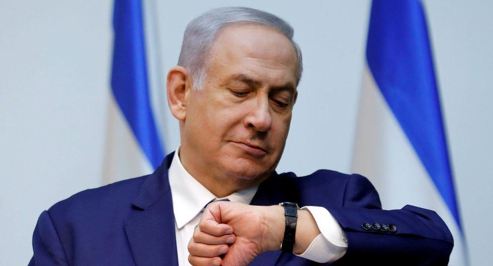 Benjamin Netanyahu pidió a Benny Gantz formar un gobierno de coalición en Israel. (REUTERS/Amir Cohen).