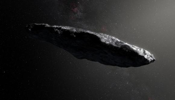 El 'Oumuamua fue detectado en 2017 por el Observatorio Haleakala de Hawai