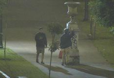 Cercado:intervienen a dos sujetos que pintaban estatuas del Paseo Colón